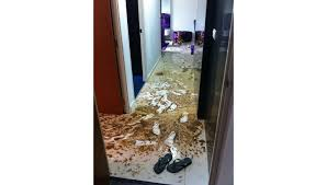 couple u0027s sewage disaster in new punggol bto flat explodes online