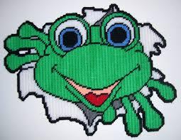 free printable halloween plastic canvas patterns frogs plastic canvas patterns