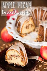 apple pecan bundt cake self proclaimed foodie