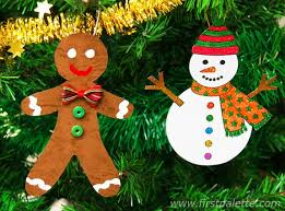 printable tree ornaments craft crafts