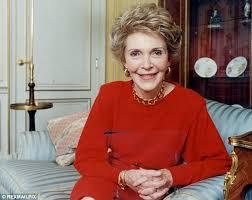 Nancy Reagan Mourning Nancy Reagan A Champion Of Goodness