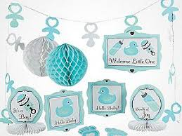 blue baby shower decorations baby shower supplies trading