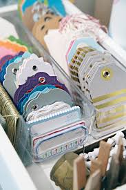 Organize Gift Wrap - 33 ways to organize your gift wrapping essentials