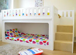 Bunk Beds  Oak Bunk Beds With Stairs Stair Loft Bed Kids Bunk - Oak bunk beds for kids