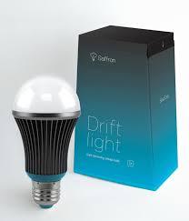 the drift light led recreates a sunset for better sleep design milk