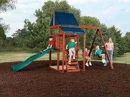 asheville swing set asheville play set swing n slide wooden