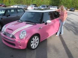 pink glitter car pink mini cooper omg you dont even know how much i love mini