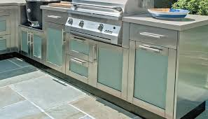 stainless outdoor kitchen cabinets kitchen outdoor stainless