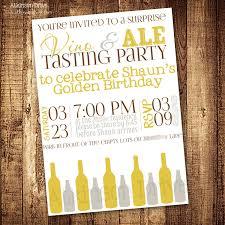 printable vino u0026 ale wine u0026 beer tasting party invitation 8 00