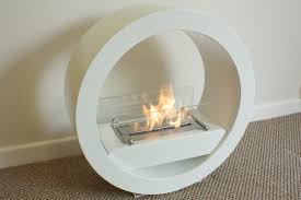 freestanding bioethanol fireplaces contemporary elements