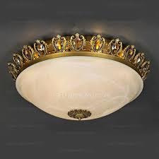 4 Light Semi Flush Ceiling Fixture by 4 Light Semi Flush Mount Ceiling Lights Brass