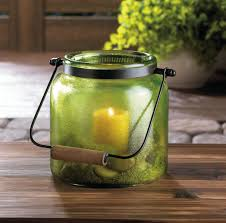 green jar candle lantern wholesale at koehler home decor