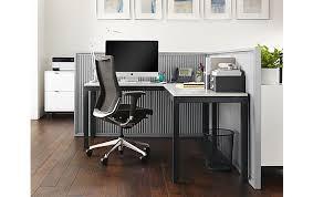 Parsons Computer Desk Parsons L Shaped Desk Office Space Modern Office Furniture
