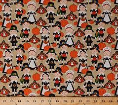 store cotton give thanks pilgrim pilgrims fall autumn