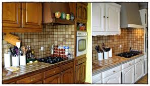 relooker sa cuisine en chene relooker une cuisine rustique en chêne idées de décoration à la