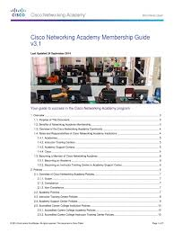 cisco networking academy membership guide derivative work