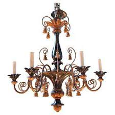 Antique Wood Chandelier Vintage U0026 Used Italian Chandeliers Chairish