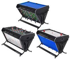 strikeworth trisport multi games table pool air hockey u0026 foosball