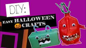 easy diy halloween craft monsters youtube