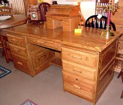 Solid Oak Office Desk Gateway Iv Real Solid Oak Furniture