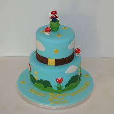 mario cake two tier mario cake