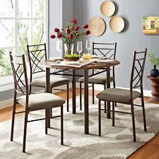 dorel santiago 5 pc drop leaf dining set