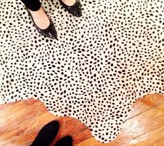 Cowhide Runner Rug Yes A Million Times To A Black And White Spotted Cowhide Rug In An