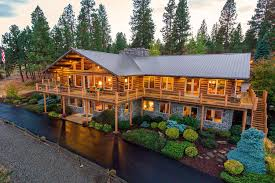 log home estate near spokane valley hits market at 3 5 million