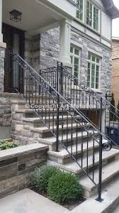 Exterior Stair Railing by Exterior Railings U0026 Handrails For Stairs Porches Decks