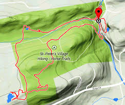 French Creek State Park Map Southeastern Pa Hiking St Peters Village My Two Day Adventure