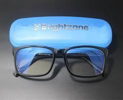 blue light glasses review anti blue light blocking filter reduces digital eye strain clear