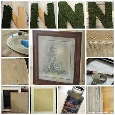 Monogram Letters Home Decor Moss Monogram Wall Decor Mountain Modern Life