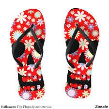 halloween flip flops halloween holiday art sandals shoes