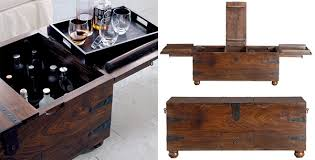 crate and barrel bar table taka trunk pirate bar coffee table originally from crate and