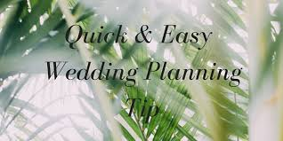 easy wedding planning a and easy wedding planning tip to get organized mango