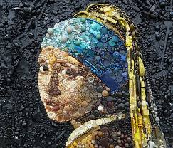 girl pearl earing recycled girl with a pearl earring scene360