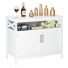 white storage cabinet for kitchen bonnlo sideboard buffet storage cabinet kitchen storage buffet white dining buffet modern storage sideboard with open