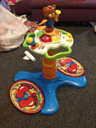 sit to stand activity table vtech sit to stand dancing tower learning activity table great