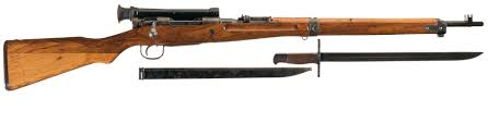 late world war ii japanese type 97 nagoya sniper rifle with