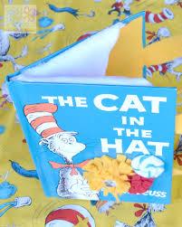 the cat in the hat diy book purse brie brie blooms
