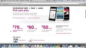 Mobile Plans by Get 30 T Mobile Plan With Unlimited Data 5gb And Text Youtube