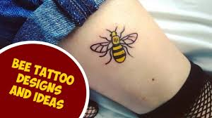 the most cutest bee tattoo designs and ideas youtube
