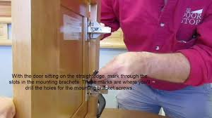 how to hang new cabinet doors on existing cabinets youtube