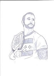 cm punk coloring pages wwe coloring pages free printable pictures
