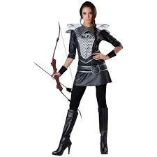 katniss everdeen costume hunger games halloween fancy dress