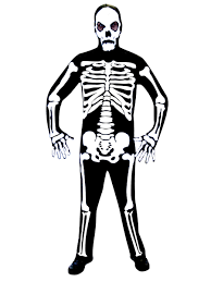 Skeleton Woman Halloween Costume Skeleton Jumpsuit Costume 996204 Fancy Dress Ball