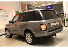brown range rover land rover range rover 4 4 tdv8 vogue 312cv luxury motor