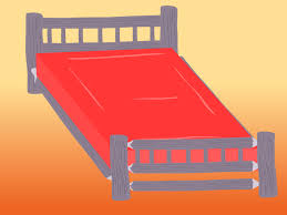 How To Make A Platform Bed Frame With Legs by How To Build A Log Bed 10 Steps With Pictures Wikihow