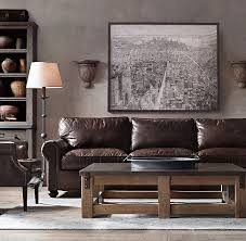 Restoration Hardware Recliner Restoration Hardware Leather Sofa Intended For Seating Collections