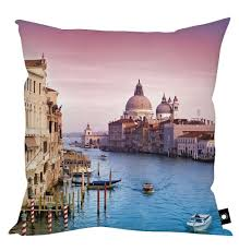 venice italy home decor cushion